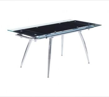 Τραπέζι χρωμίου - 309 (125χ75+30+30)